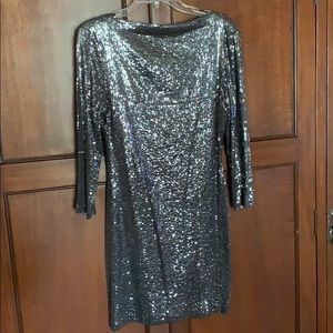 Ali Ra Silver Sequins Dress